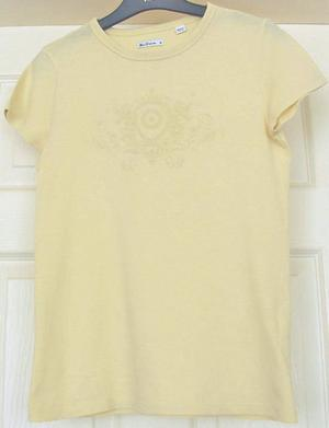 MENS LEMON T SHIRT BY BEN SHERMAN - SZ M B1