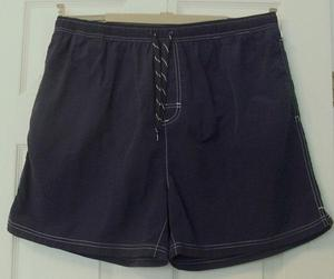 MENS NAVY PULL ON SHORTS BY GEORGE - SZ XL B5