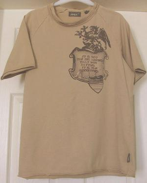 "MEN'S T SHIRT BY TED BAKER - SZ 3 (42"" CHEST) B21"