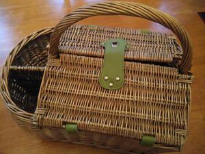Meadow Lane Picnic Basket - used once!