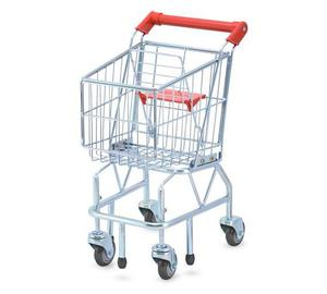 Melissa and Doug Childs Shopping Trolley Brand New