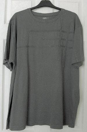 Mens Dark Grey T Shirt By Easy Casual Wear - Sz XXL B22