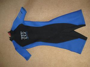 Mens shorty wetsuit - small