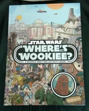 "NEW STAR WARS ""WHERE'S THE WOOKIEE"" HARDBACK BOOK."