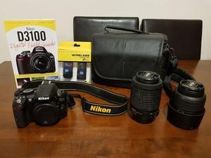 Nikon D DSLR Camera and accessories
