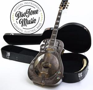 Ozark BTE Thinline Biscuit Electro Resonator& Hard Case