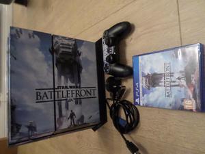 PLAYSTATION PS4 STAR WARS BATTLEFRONT CONSOLE & BATTLEFRONT
