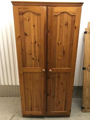 Pine wardrobe with FREE DELIVERY