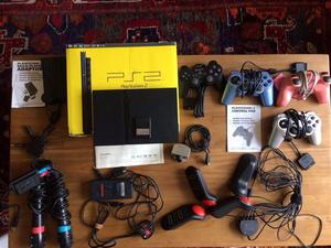 PlayStation2 PS2 Console, 4 controllers, games, much more