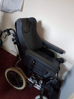 Premium Wheelchair. All moveable parts.Padded. Breaks