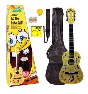 SPONGEBOB SQUAREPANTS 1/4 SIZE NYLON STRING CLASSICAL GUITAR