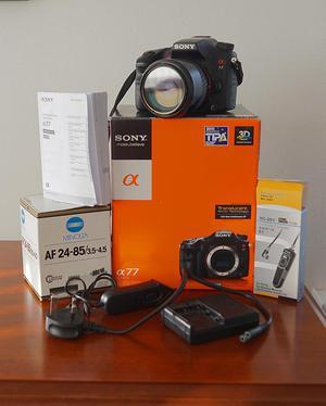 Sony A 77 Camera