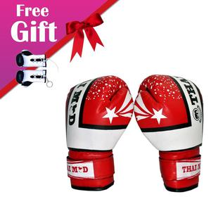 Training Muay Thai 6oz Boxing Gloves With Free Gift Kids