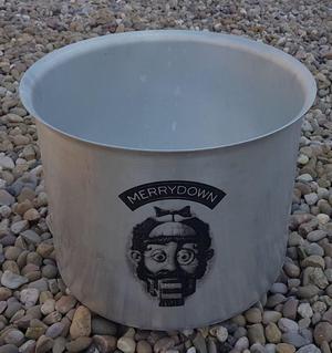 Vintage Merrydown Aluminium Ice bucket