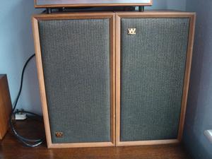 Vintage Wharfedale Super Linton Speakers