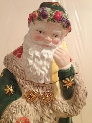 Waterford - Holiday Heirlooms - Letter to Santa Cookie Jar -