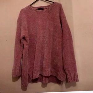 Women's pink jumper size 12
