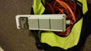 mobile mains power unit with rcd
