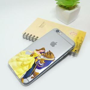 Beauty and the Beast Phone Silicone Case for iphone 6 Plus