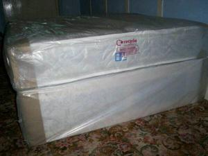 Brand new double divan bed with orthopaedic mattress