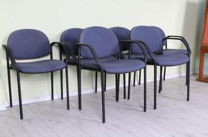 DELIVERY OPTIONS - 6 BLUE METAL FRAME STACKING RECEPTION