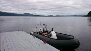 Excel vanguard 535 rib boat