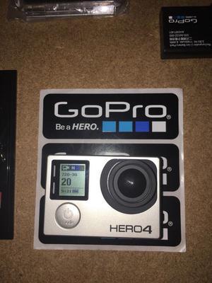 GoPro Hero 4 Black 4x Batteries & Accessories