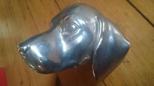Graham and green wall mounted dog head