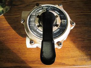 Hayward Vari-Flo Control 1-1/2in FIP Valve Side Mount w/