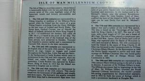Isle of Man Tynwald Millenium Crowns Collection
