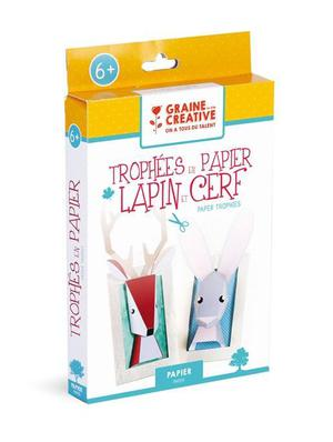 Kit creative for children Animals paper - Graine créative