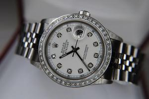 """Rolex Oyster Perpetual Datejust """"Quickset""""."""