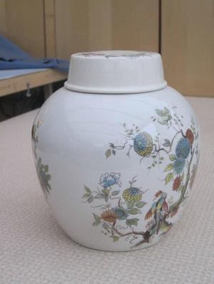 Twinings Ginger Pottery jar with lid £25