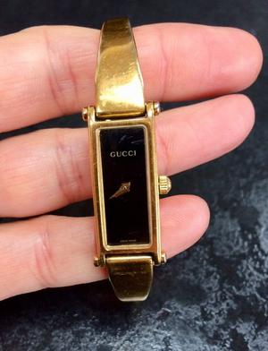 Vintage Gucci Womens Watch bangle, L edition