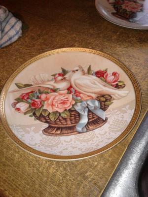 collectors plates by gloria vanderbilt
