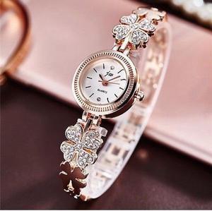 ladies rose gold bracelet watch