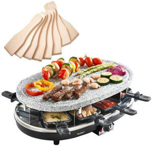 new raclette grill stone for 8 person