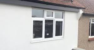 pvc white window