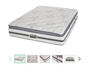 queen size mattress 11 inch height. 140x200cm. LIKE NEW. Make me an offer!