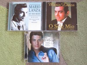 3 Cd,sPerry Como/ Mario Lanza / Dean Martin etc (Incl P&P)