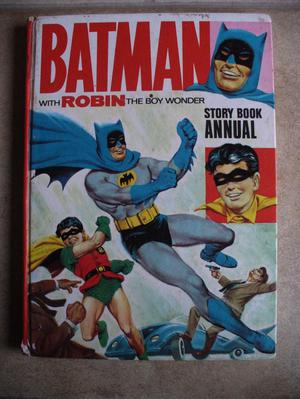 BATMAN with Robin The Boy Wonder Story Book Annual