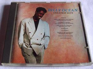 BILLY OCEAN GREATEST HITS CD