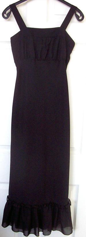 BNWT BEAUTIFUL LADIES BLACK DRESS BY NEW LOOK - SZ 8