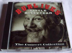 BURL IVES LITTLE BITTYTEAR (THE CONCERT COLLECTION) CD