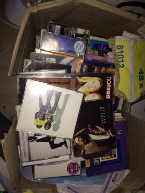 Big box of 80s, 90s & early  CD Singles