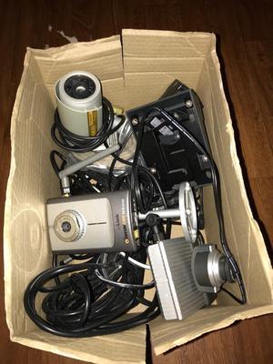 Box of mixed cameras