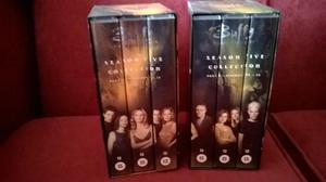 Buffy The Vampire Slayer VHS video Box sets x 2