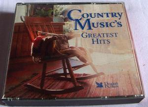 COUNTRY MUSIC'S GREATEST HITS 6 CD SET