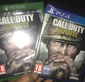 Call of Duty WWII for PS4 and Xbox One - Brand New