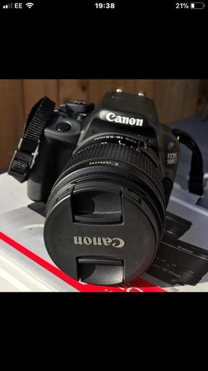 Canon EOS 100D DSLR Camera & EFS mm III + EF mm III Lens Kit
